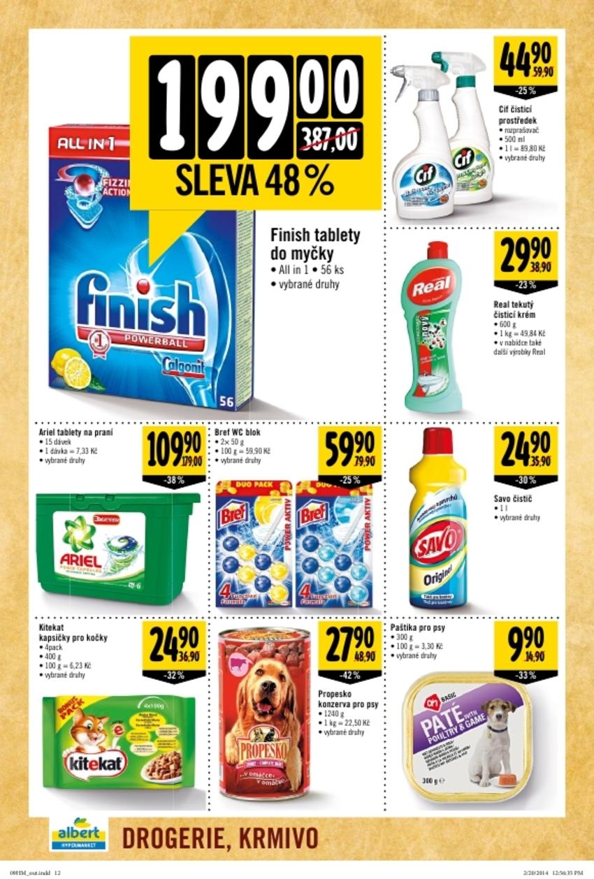 Leták Albert hypermarket - strana 12
