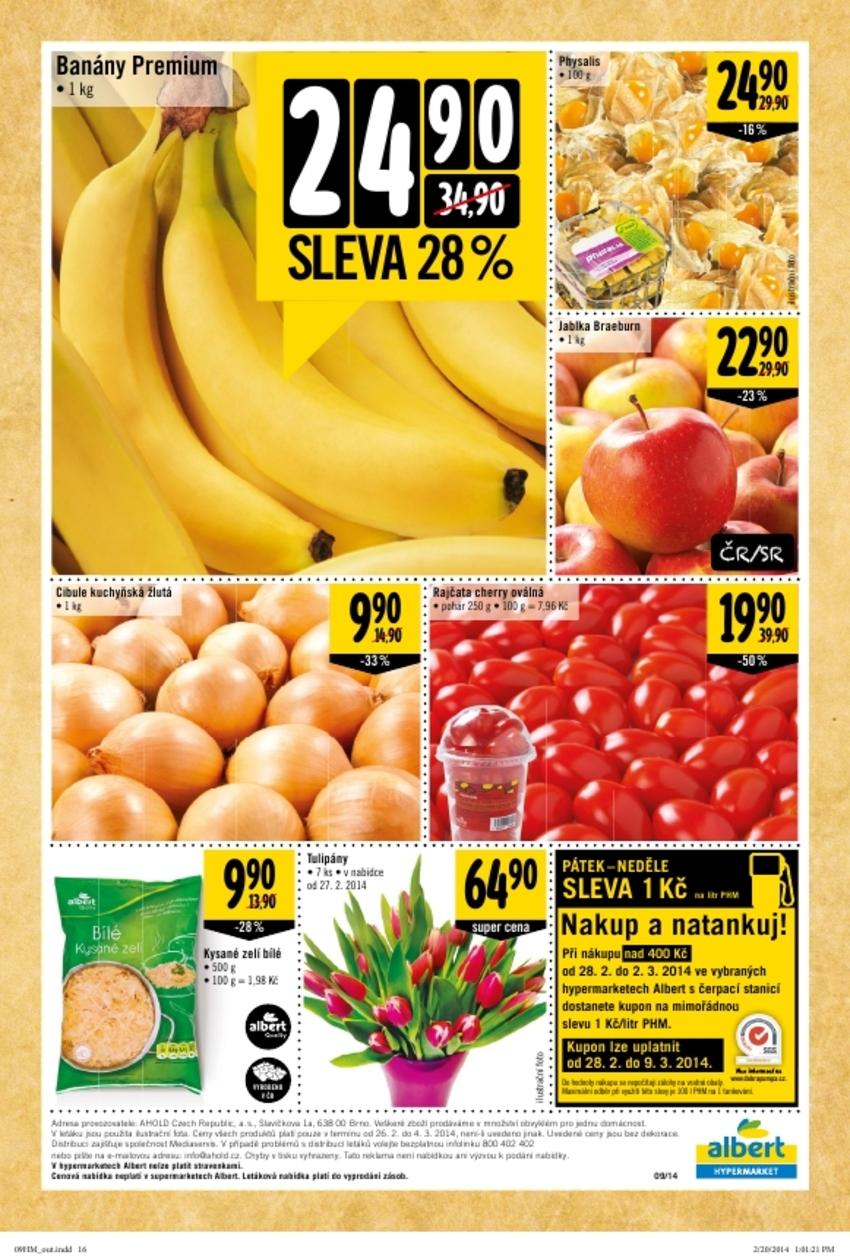 Leták Albert hypermarket - strana 16