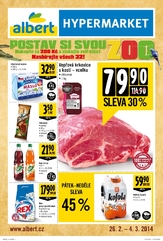 Leták Albert hypermarket (26.2. - 4.3.2014)