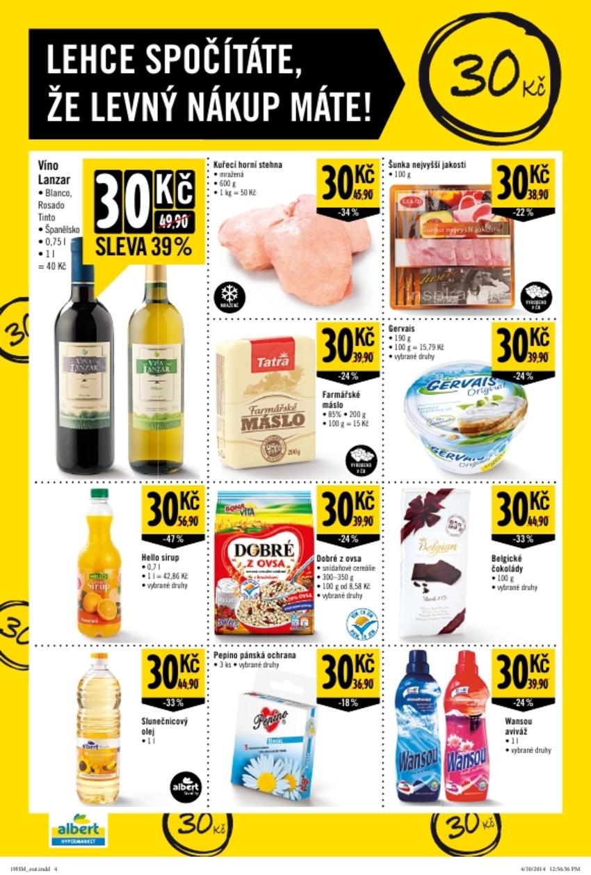 Leták Albert hypermarket - strana 4