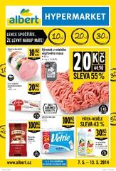Leták Albert hypermarket (7.5. - 13.5.2014)