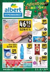 Leták Albert hypermarket (2.3. - 8.3.2016)
