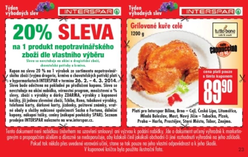 Leták Interspar - strana 23