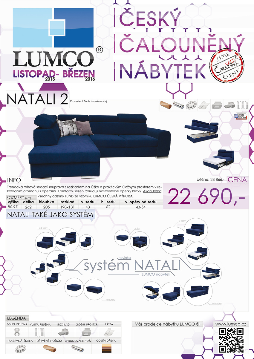 Leták Lumco - strana 1