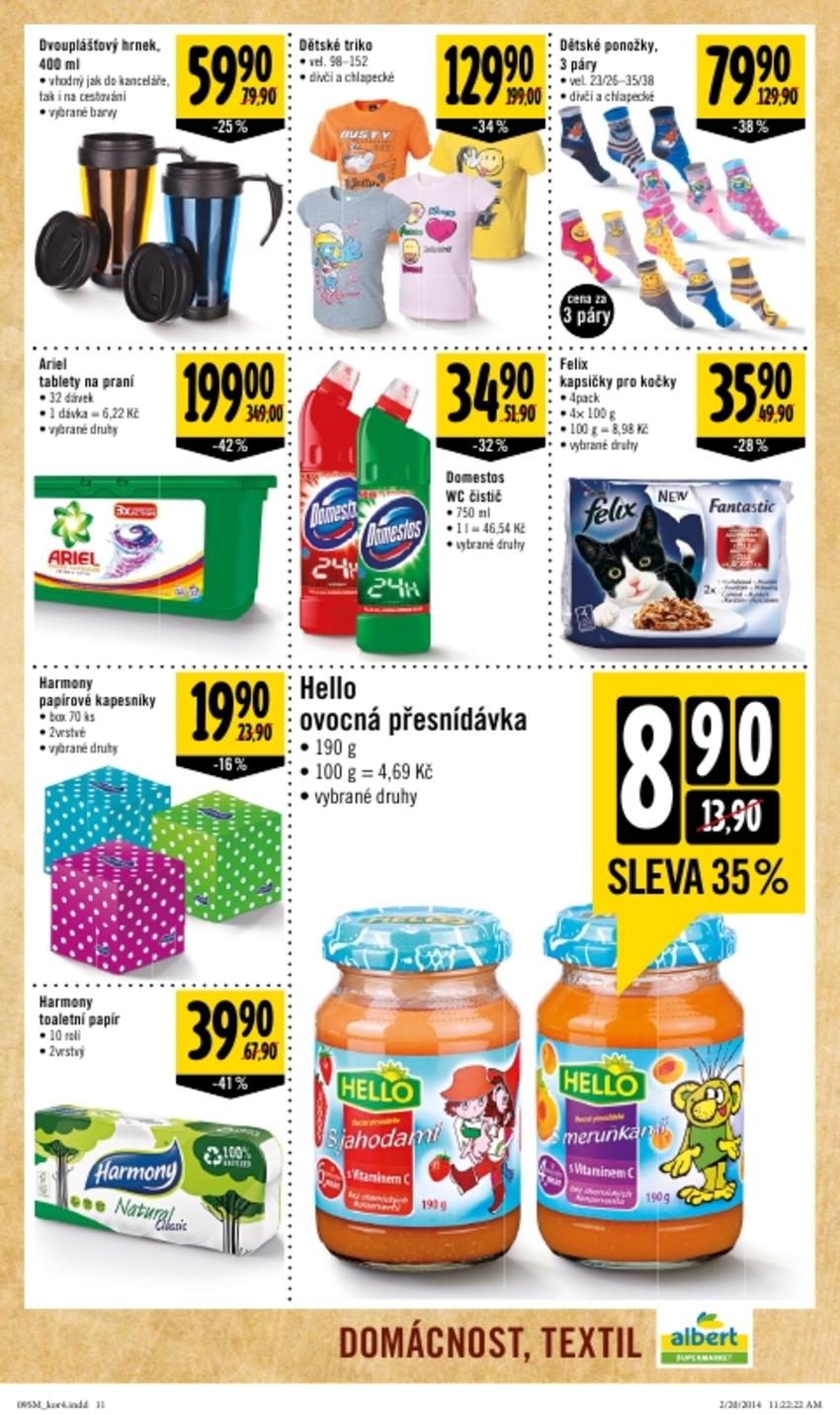 Leták Albert supermarket - strana 11