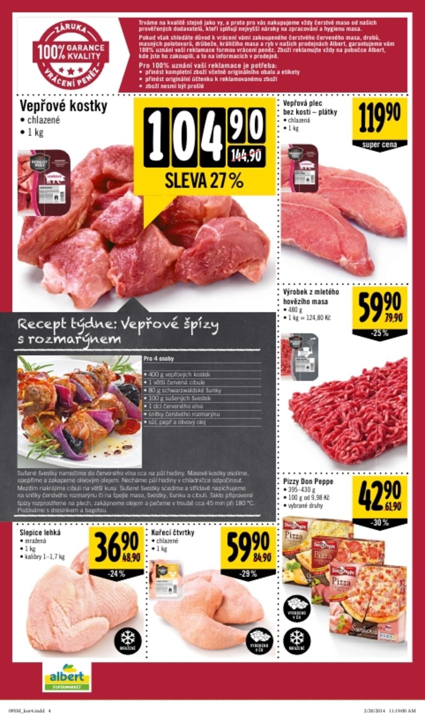 Leták Albert supermarket - strana 4