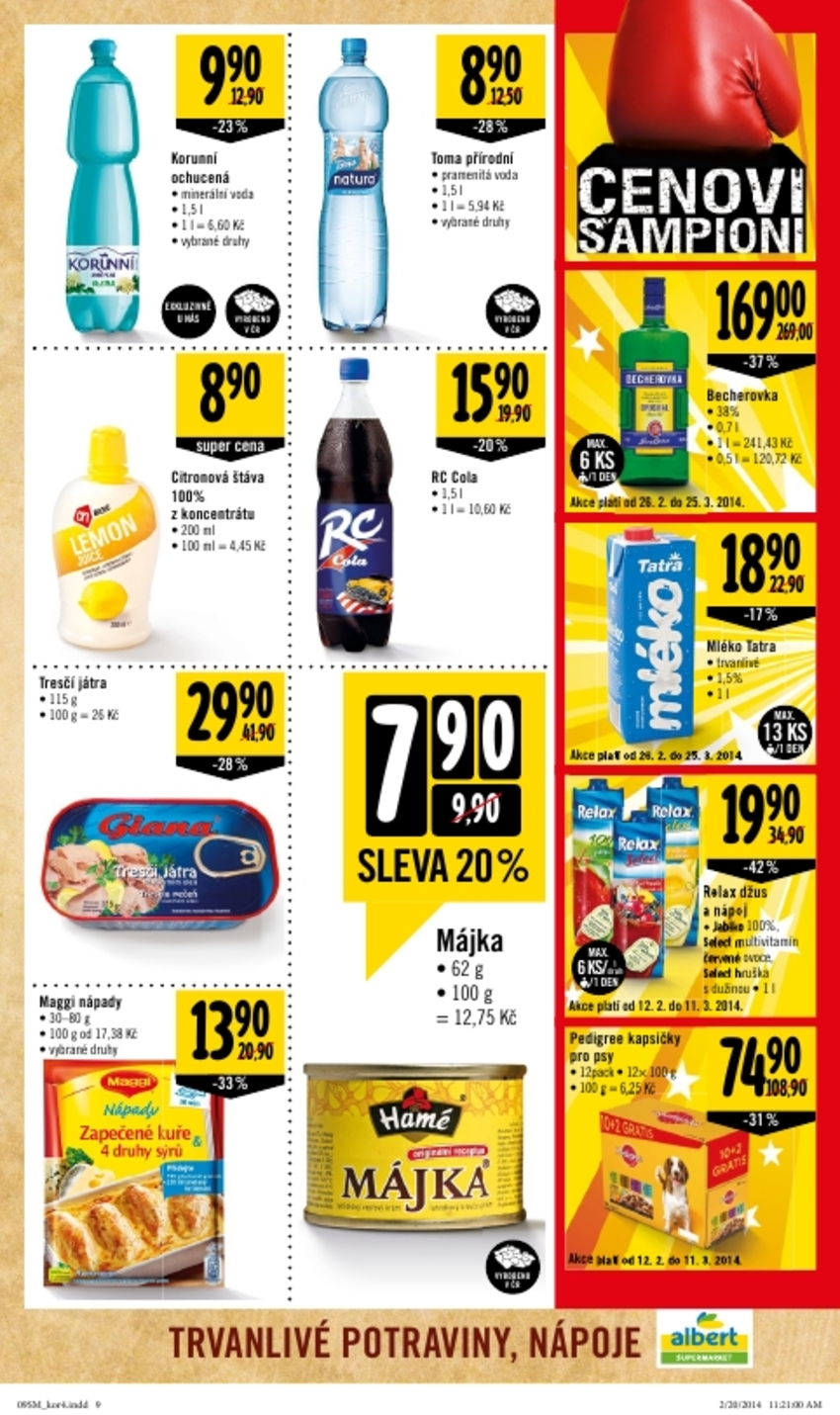 Leták Albert supermarket - strana 9