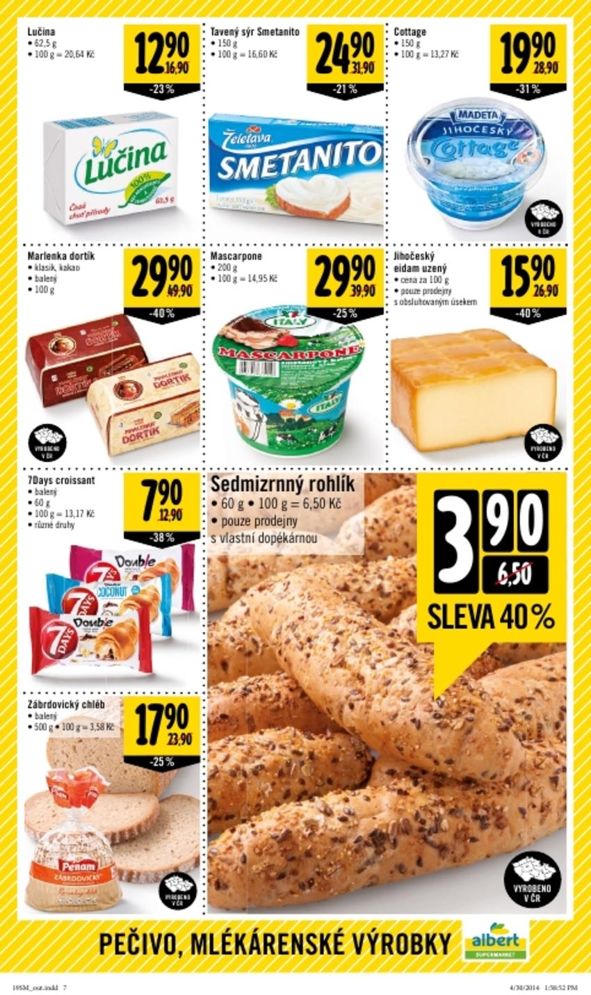 Leták Albert supermarket - strana 7