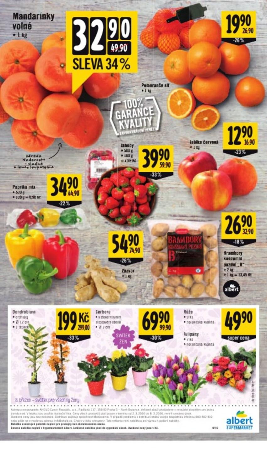 Leták Albert supermarket - strana 12