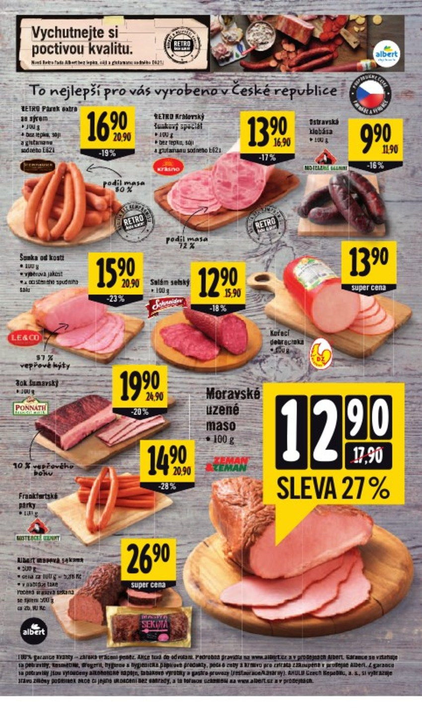 Leták Albert supermarket - strana 3