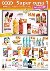 Leták TERNO supermarket (1.5. - 31.5.2014)