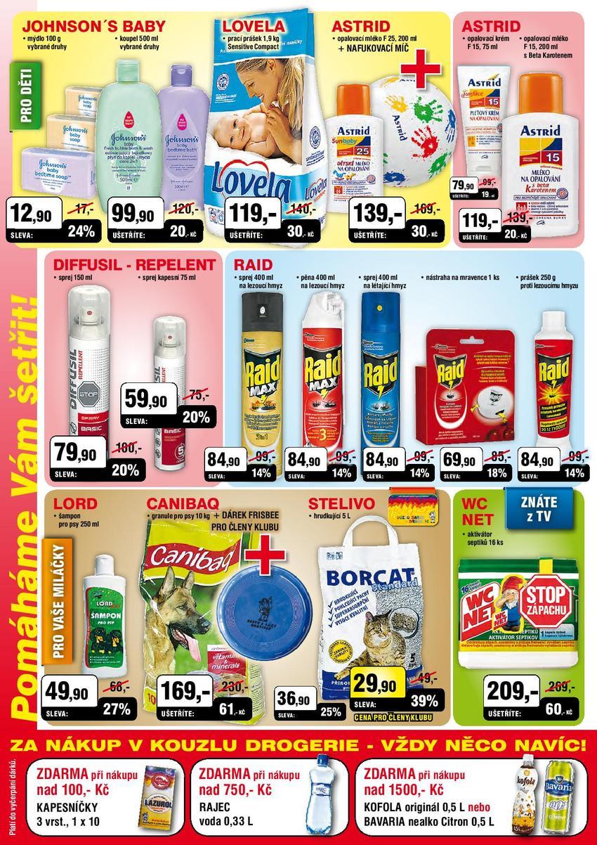 Leták Kouzlo drogerie - strana 4