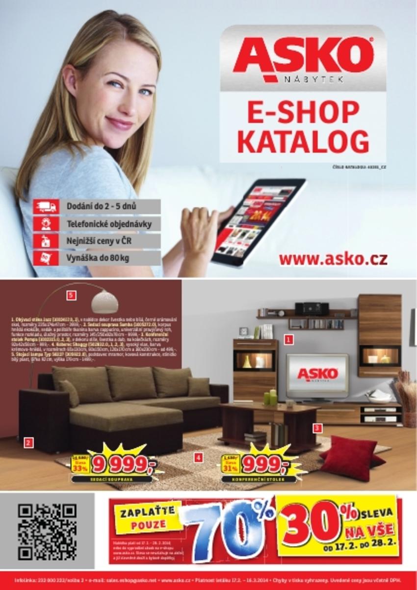 Leták Asko - nábytek - strana 1