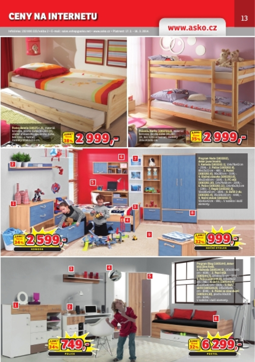 Leták Asko - nábytek - strana 13