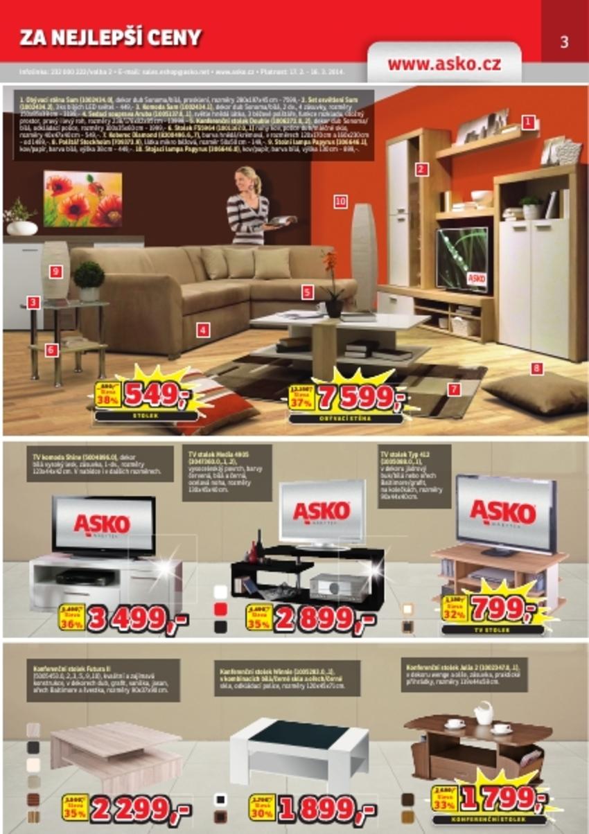 Leták Asko - nábytek - strana 3