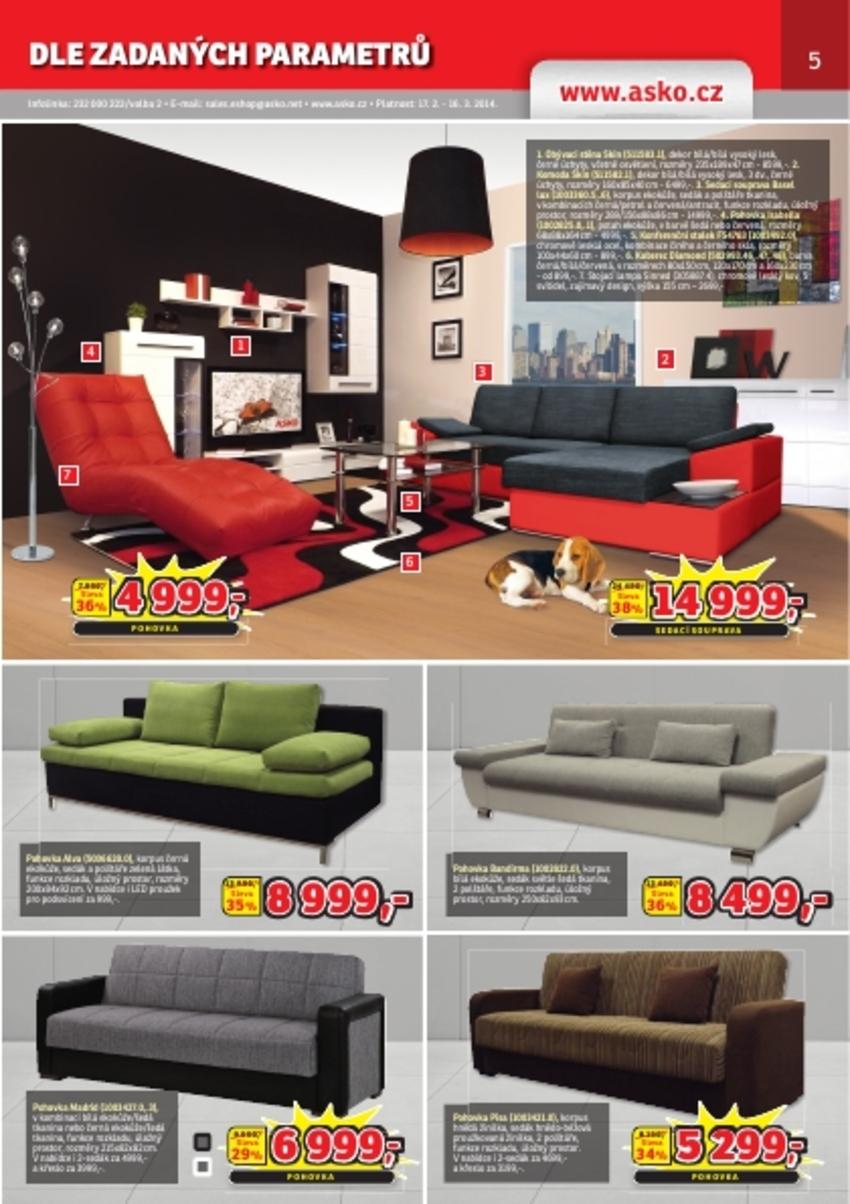 Leták Asko - nábytek - strana 5