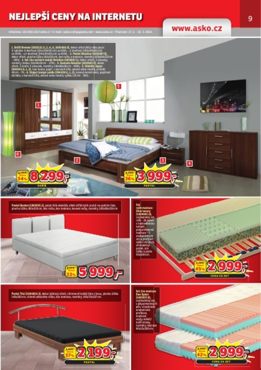 Leták Asko - nábytek - strana 9